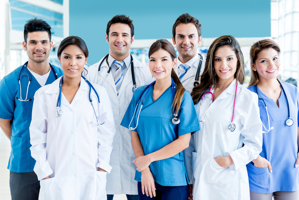 Medical,Team,At,The,Hospital,Looking,Very,Happy